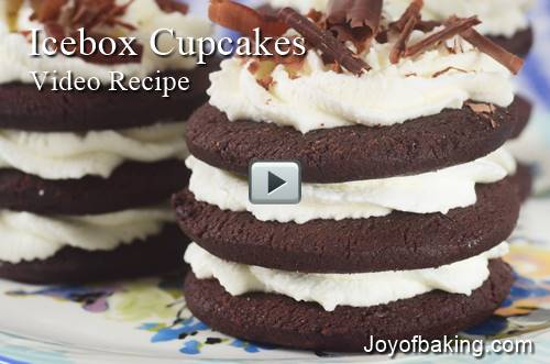 Cooler Video & Cupcakes Recipe – Joyofbaking.com