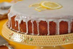 Lemon Frosted Lemon Cake Recipe & Video