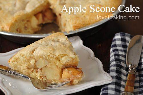Apple Scone Cake Recipe