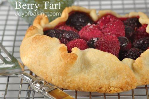 Berry Tart Recipe - Joyofbaking.com