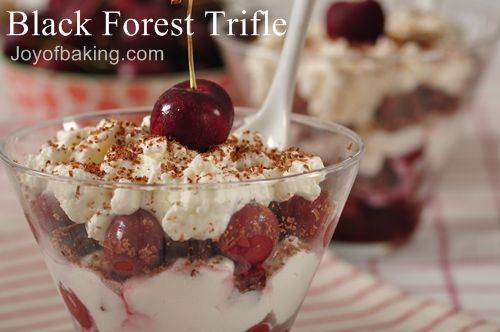 Black Forest Trifle Recipe Pictures to pin on Pinterest