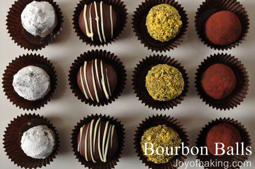 Bourbon Balls Recipe - Joyofbaking.com *Video Recipe*