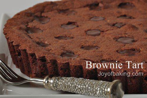 Brownie Tart Recipe