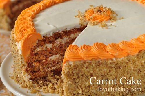 A Special Carrot Cake Recipe