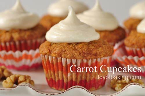 Cake Icing Recipe Joy Of Baking: Apple Carrot Cupcake Recipe