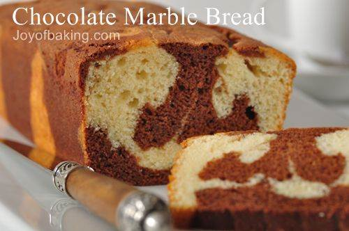 Chocolate Marble Bread Recipe