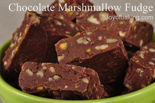 Chocolate Marshmallow Fudge Recipe