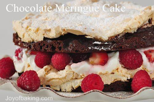 Chocolate Meringue Cake Recipe
