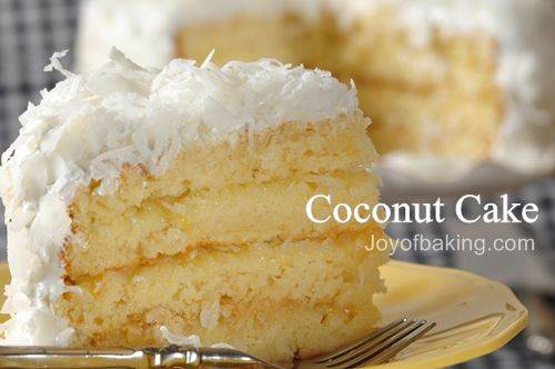 Coconut Cake Recipe Joyofbaking Com Video Recipe
