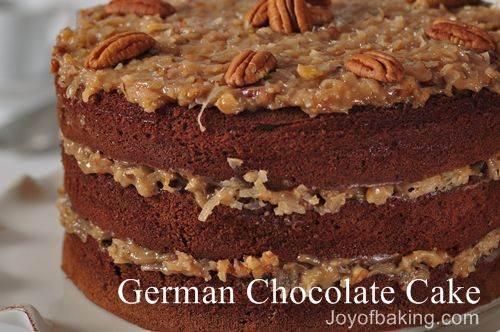 German Chocolate Cake Recipe Joy Of Baking: German Chocolate Ice Cream Cake Recipe