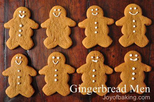 Gingerbread Men Recipe
