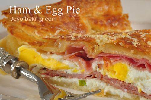 Ham and Egg Pie Recipe