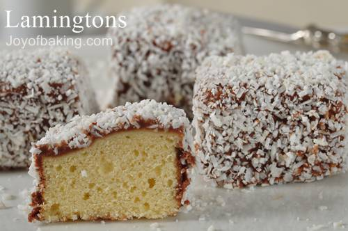Lamingtons Recipe
