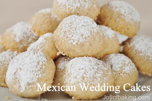 Mexican Wedding Cakes Recipe