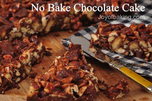 No Bake Chocolate Cake Recipe - Joyofbaking.com *Tested Recipe*
