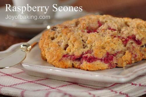 raspberry scones chocolate raspberry scones lemon glazed raspberry ...