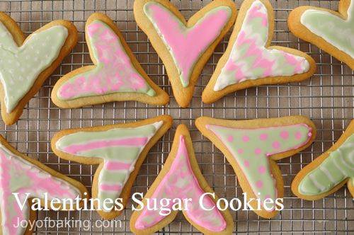 Valentine S Sugar Cookie Recipe Joyofbaking Com Tested Recipe