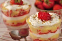 Strawberry Lemon Curd Trifle Recipe & Video - Joyofbaking.com *Video ...